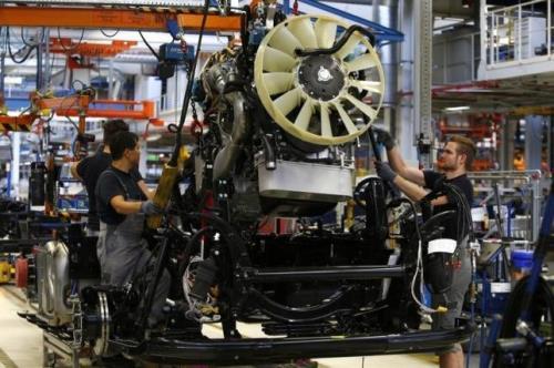 Lượng đơn đặt hàng công nghiệp của Đức tăng vượt kỳ vọng. Ảnh: Reuters