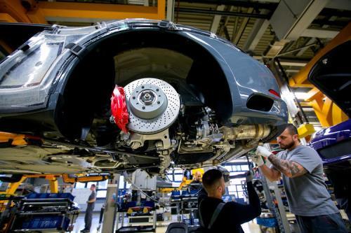 Kinh tế Đức khởi sắc trong quý I nhờ chi tiêu và đầu tư tăng. Ảnh: bloomberg