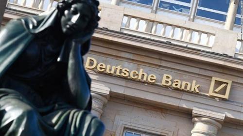 Cổ phiếu Deutsche Bank trượt dốc không phanh. Ảnh: dollarvigilante.com