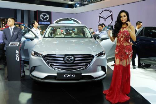 Mazda CX-9 2017 thăm dò thị trường Việt Nam