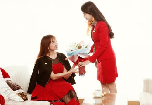 Vietjet khuyến mại vé máy bay quốc tế mừng ngày phụ nữ Việt Nam