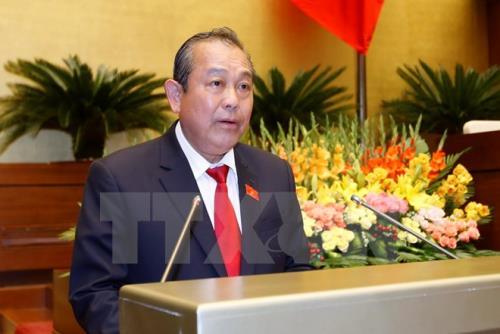 Phó Thủ tướng Chính phủ Trương Hòa Bình. Ảnh: TTXVN.