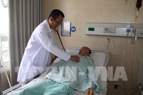 Phẫu thuật cắt bỏ khối phổi biệt lập nặng 0,5kg