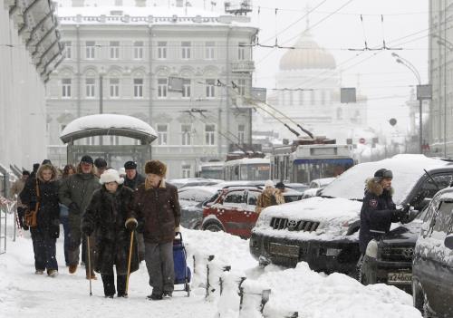 Thủ đô Nga ghi nhận mùa Đông đến sớm nhất trong hơn một thế