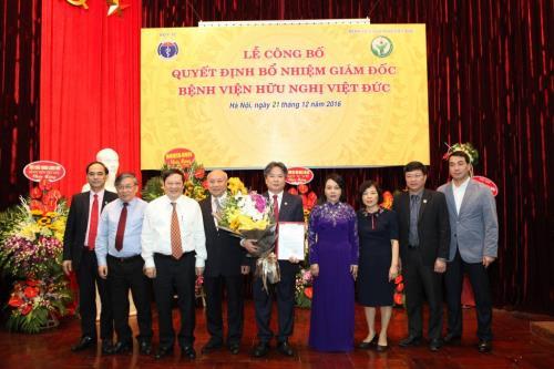 Bệnh viện Việt Đức có tân giám đốc