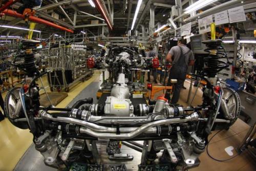 Kinh tế Đức sẽ tăng trưởng chậm lại. Ảnh: Reuters