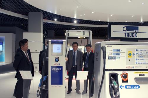 Nhật Bản hỗ trợ Petrolimex sản xuất cột bơm xăng thế hệ mới