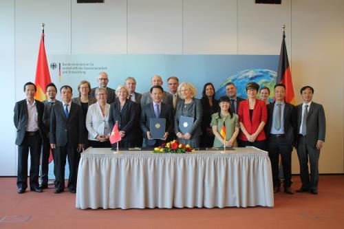 Đàm phán chính phủ giữa Đức và Việt Nam từ ngày 17-18/5/2017 tại Berlin, CHLB Đức. Ảnh: Đại sứ quán Đức tại Việt Nam