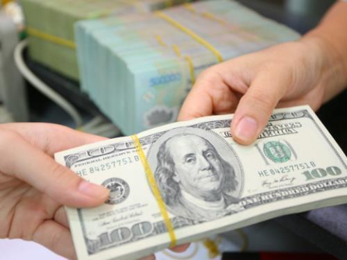Tỷ giá trung tâm tăng 3 đồng