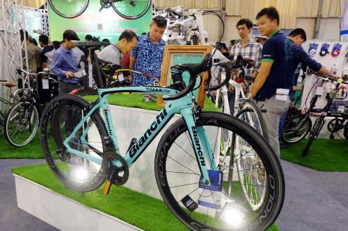 Triển lãm Quốc tế chuyên ngành xe đạp, xe đạp điện sắp diễn ra tại Hà Nội