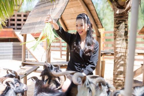 Hé lộ những hình ảnh của thí sinh HHVN 2018 tại FLC Quy Nhơn
