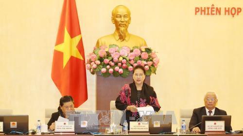Khai mạc Phiên họp thứ 19 của Ủy ban Thường vụ Quốc hội