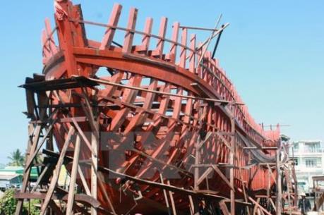 Hơn 13,2 tỷ đồng cho ngư dân đóng tàu cá vỏ thép