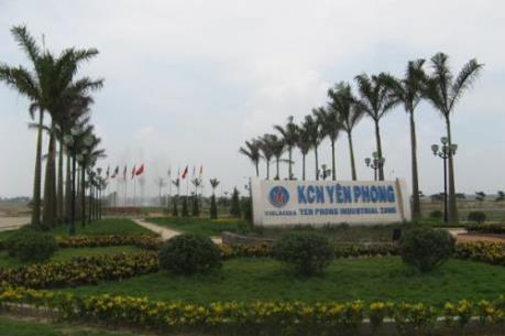 Đầu tư nước ngoài đổ dồn vào KCN Yên Phong