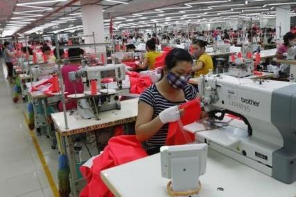 Dệt may chiếm gần 73% kim ngạch xuất khẩu của Campuchia