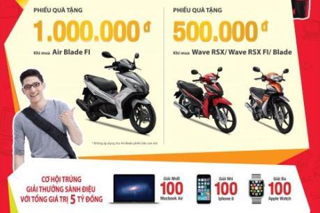 Honda Việt Nam chi 56,5 tỷ đồng khuyến mãi mùa tựu trường