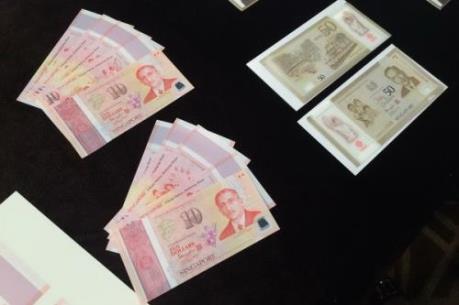 Singapore ra mắt bộ tiền giấy kỷ niệm 50 năm độc lập