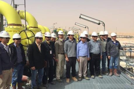 Dự án khai thác mỏ Việt Nam - Algeria có dòng dầu đầu tiên