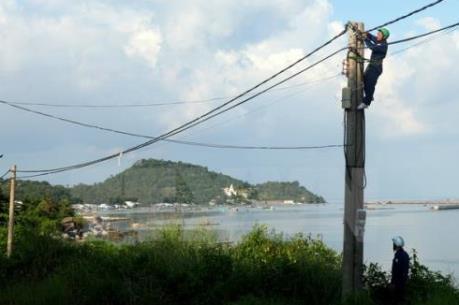 Kiên Giang đầu tư đưa điện ra các xã đảo