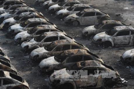 """Vụ nổ Thiên Tân có thể """"hãm phanh"""" thị trường ô tô Trung Quốc"""