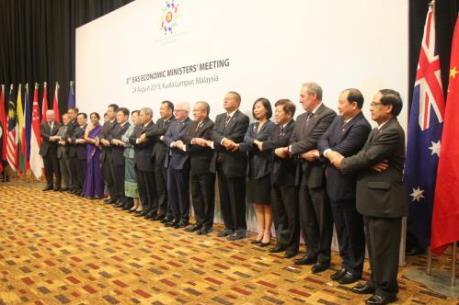 Việt Nam tham dự Hội nghị Bộ trưởng Kinh tế Đông Á