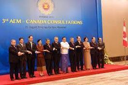 ASEAN, Canada đặt mục tiêu tăng gấp đôi kim ngạch thương mại