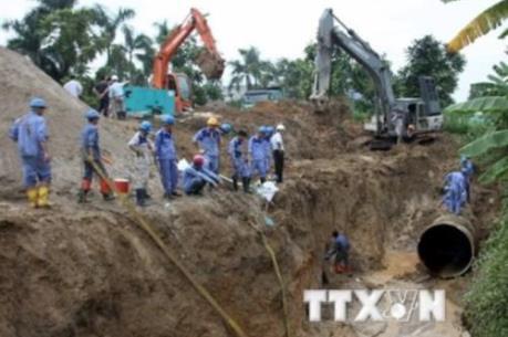 Tháng 10 sẽ khởi công giai đoạn 2 dự án nước sông Đà