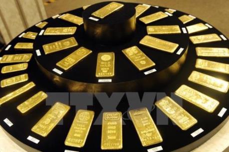 Giá vàng nối dài đà tăng trên thị trường châu Á