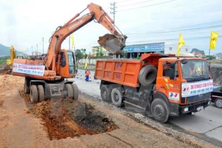 Quảng Ninh khởi công dự án cải tạo nâng cấp Quốc lộ 18