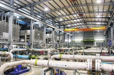 Singapore sẽ xây dựng nhà máy khử mặn nước biển thứ tư