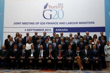G20 cam kết thúc đẩy tăng trưởng kinh tế toàn cầu