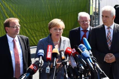 Đức công bố kế hoạch giải quyết vấn đề người tị nạn