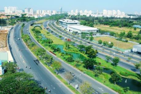 Xây dựng nút giao Nguyễn Văn Linh và Nguyễn Hữu Thọ