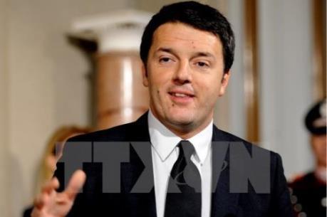 Thủ tướng Renzi: Kinh tế Italy đang phục hồi