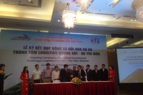 Xây dựng Trung tâm Logistics đường sắt ga Yên Viên