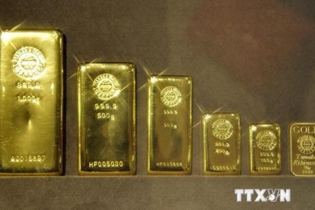 Giá vàng phục hồi từ mức thấp nhất ba tuần qua