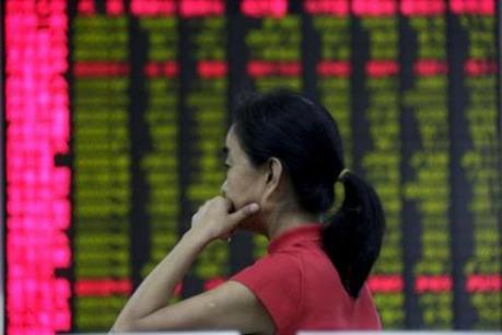 """Mối lo Trung Quốc """"đè nặng"""" thị trường chứng khoán châu Á"""