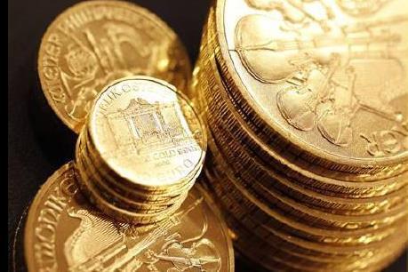 Giá vàng giảm xuống mức thấp nhất trong hai tuần