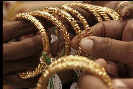 Giá vàng nới rộng đà giảm trên thị trường châu Á