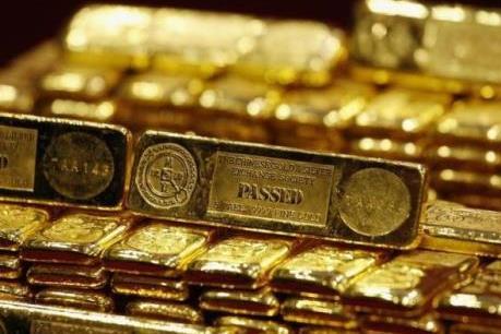 Giá vàng vọt lên mức cao nhất trong ba tuần