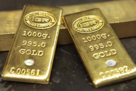 Vàng vững giá trong lúc chứng khoán châu Á giảm điểm