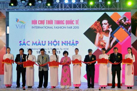 Khai mạc Hội chợ thời trang quốc tế (VIFF) 2015