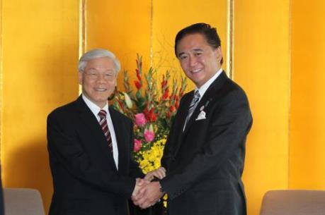 Tỉnh Kanagawa muốn tăng cường hợp tác với Việt Nam