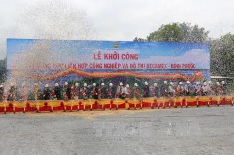 Khởi công dự án Khu công nghiệp Minh Hưng – Sikico