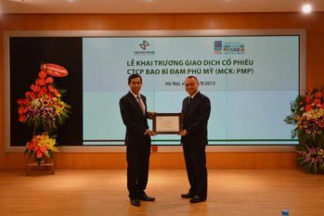 4,2 triệu cổ phiếu Bao bì Đạm Phú Mỹ chính thức lên sàn HNX