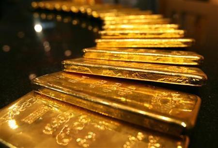 Giá vàng đi lên sau hai ngày suy giảm