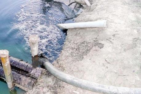 Khởi công xây dựng nhà máy xử lý nước thải tại KCN Tân Bình