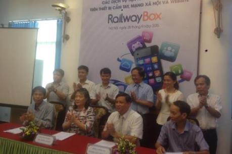 Sẽ cung cấp dịch vụ đa tiện ích trực tuyến trên tàu hỏa