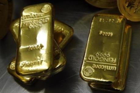 Giá vàng chạm mức cao nhất gần hai tuần qua