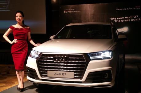 Audi Việt Nam ra mắt hai mẫu xe mới trước thềm VIMS 2015